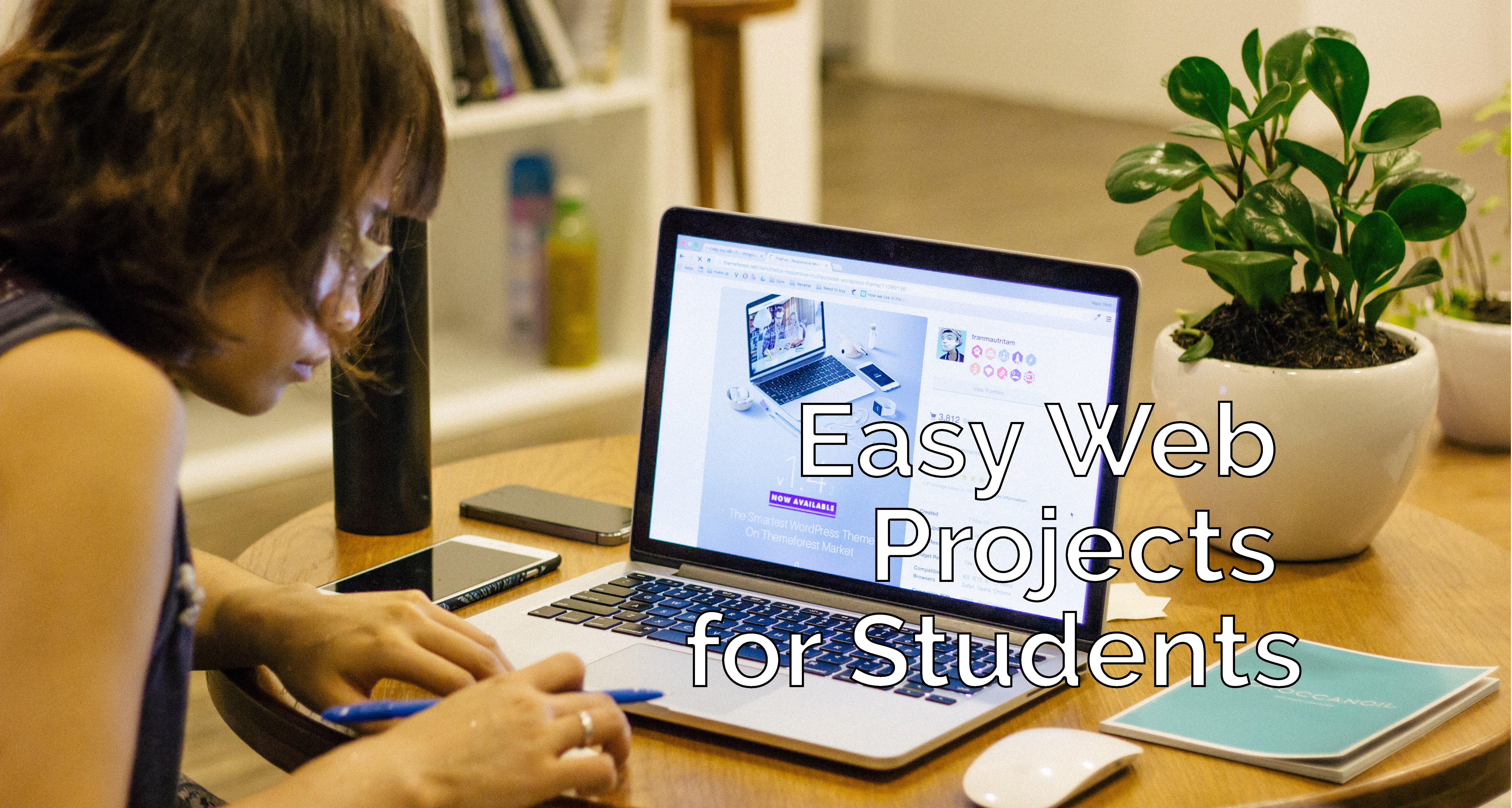 Easy Web Projects for Students
