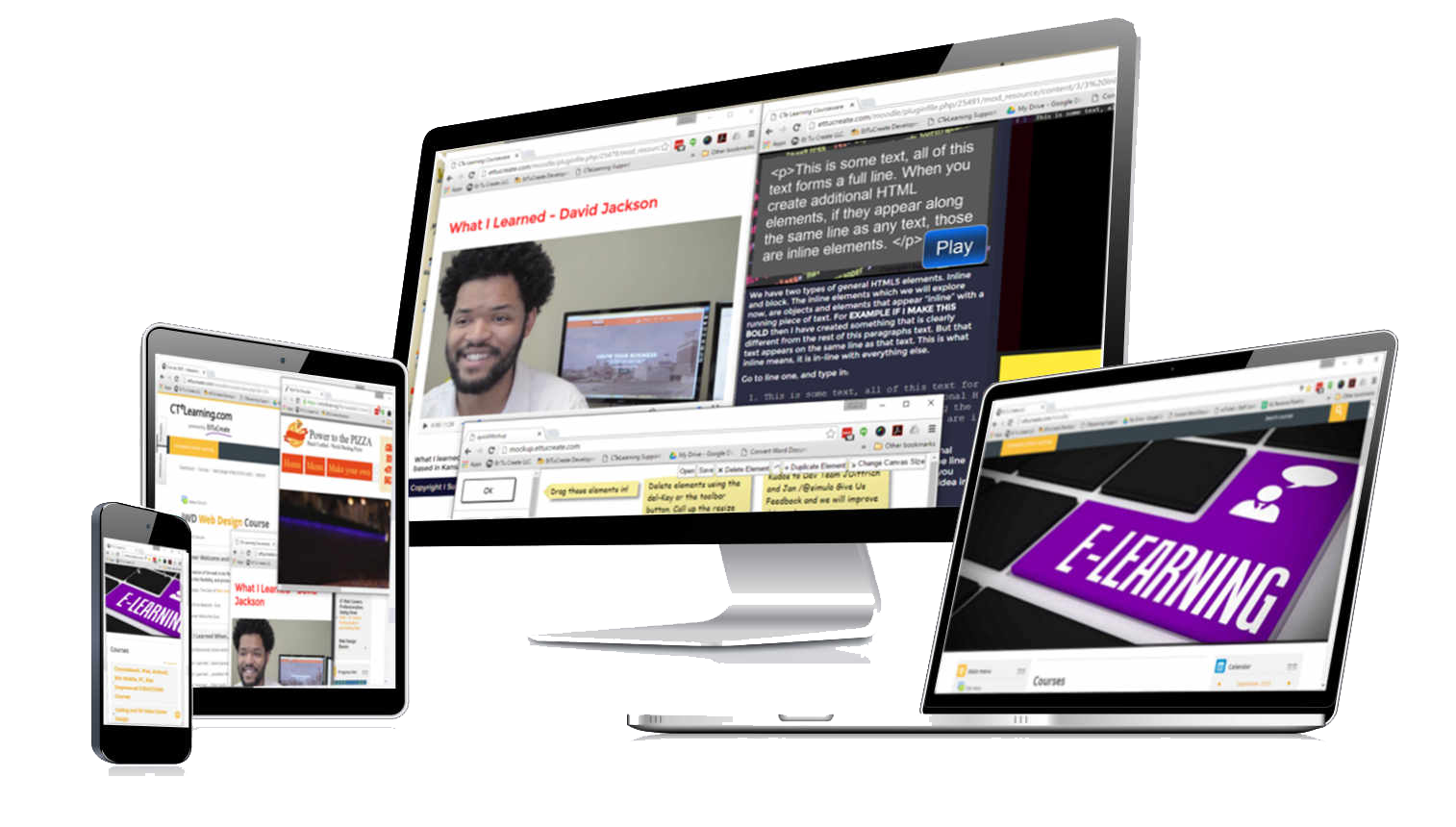 PC, Mac and Chromebook Ready Endorsed Courses