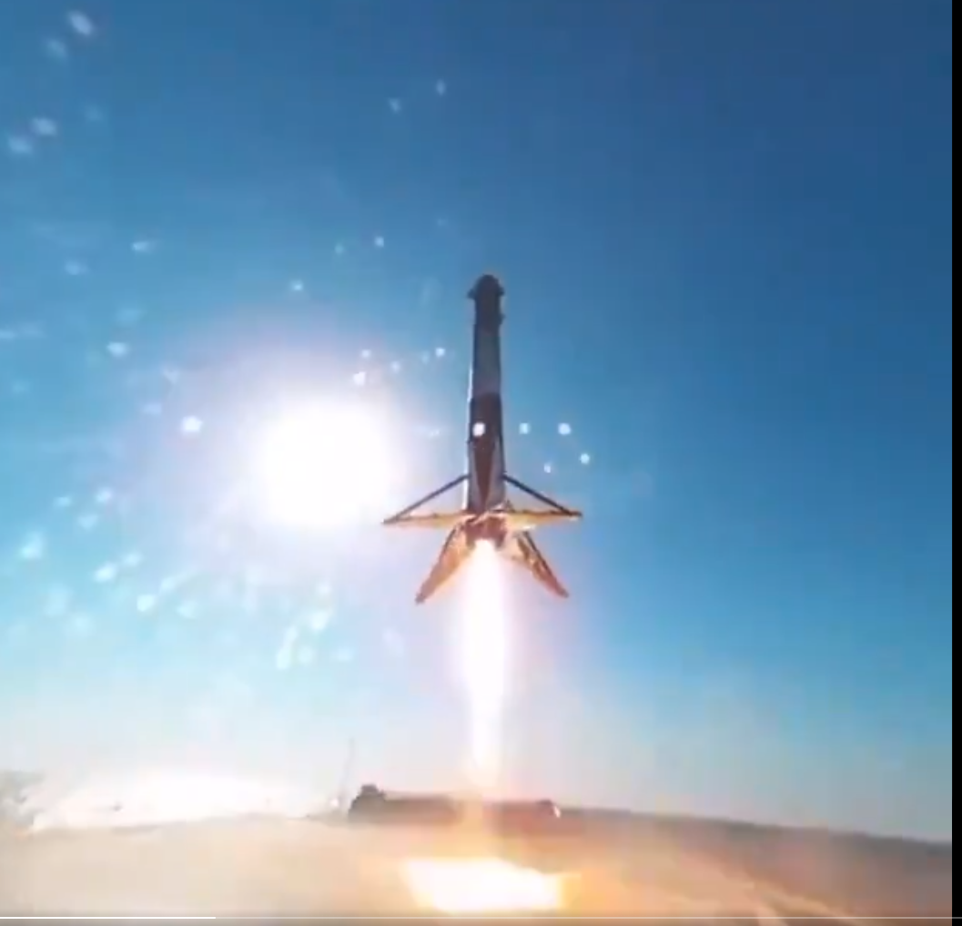 SpaceX Booster