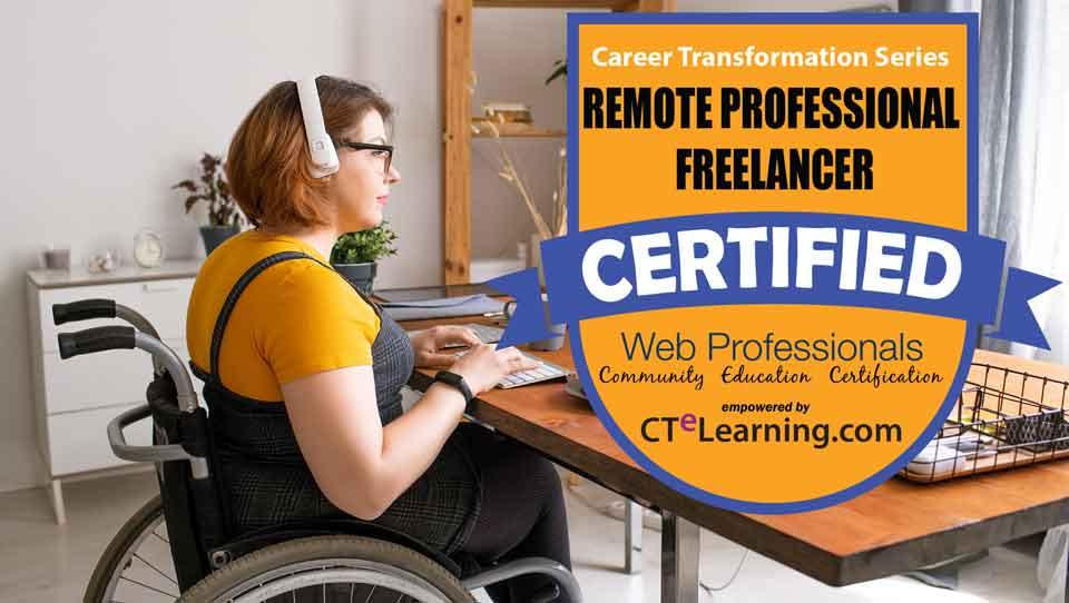 Get Certified Freelance Remote Work
